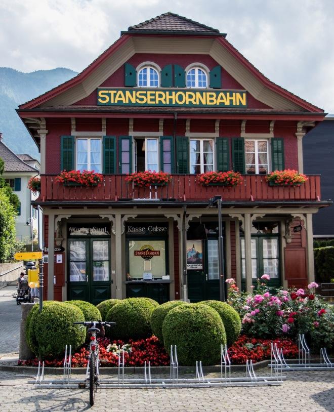 Talstation der Stanserhornbahn