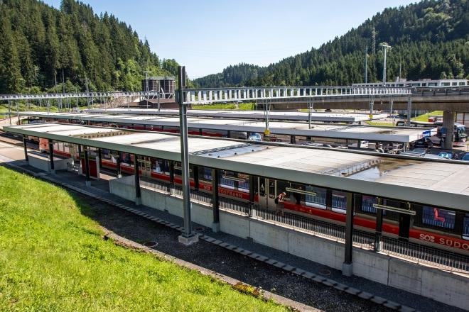 Bahnhof Biberbrugg