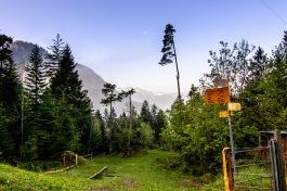 Wanderweg Hinterbergen